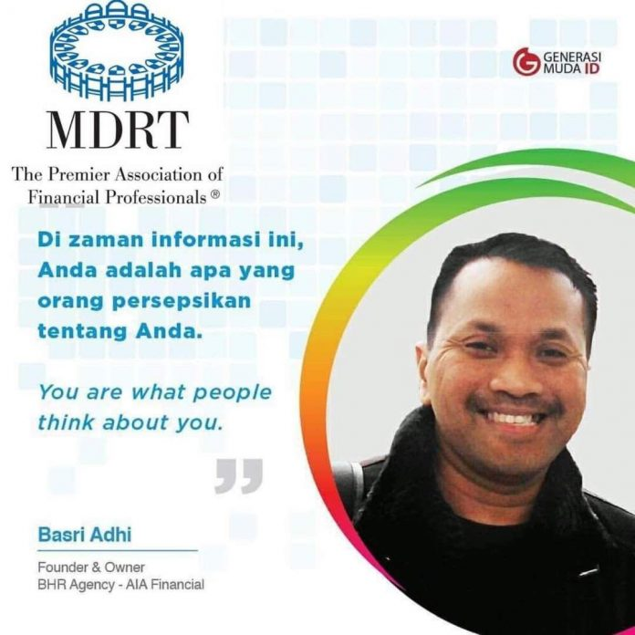 Basri Adhi (Founder dan Owner BHR Agency - AIA Financial)